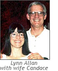 Lynn Allan, Software Developer, with wife Candace